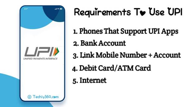 Requirements To Use UPI System