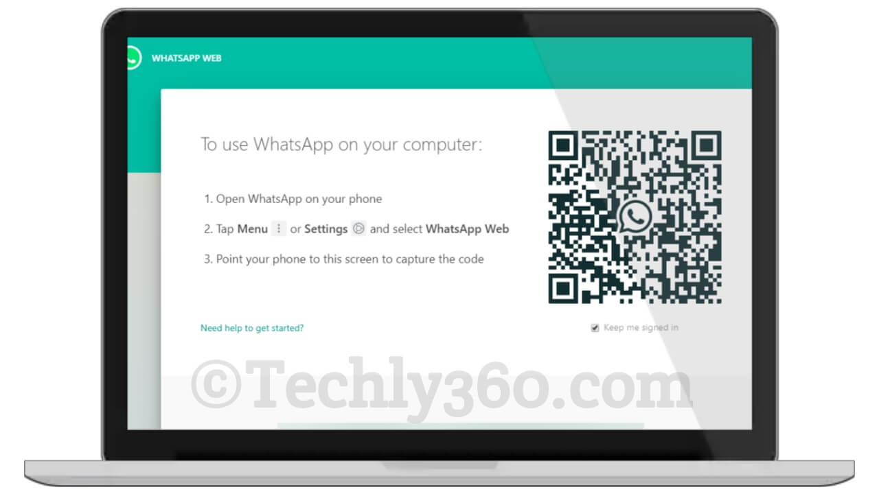 How to Login to use New WhatsApp Web on Desktop in Hindi