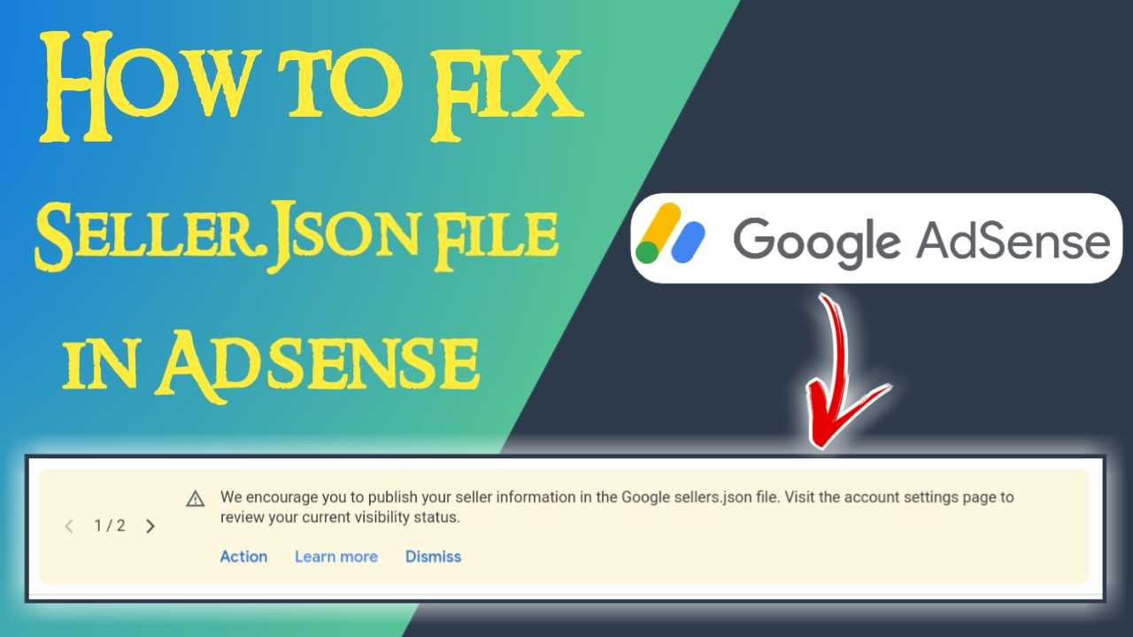 Fix Google Seller.json File in Adsense Hindi, Fix Seller.Json, Google seller.json file, What is Google Seller.Json File in Hindi