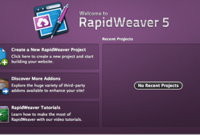 REVIEW: RAPIDWEAVER 5 FOR MAC