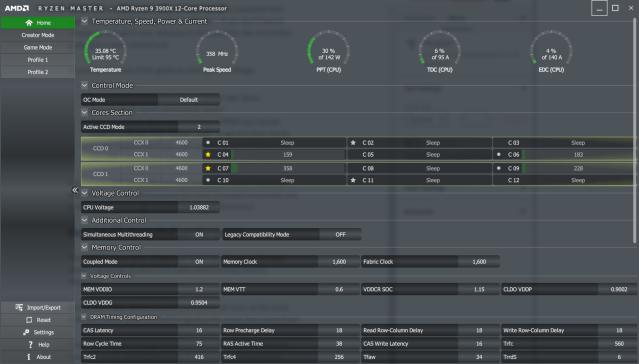 Get the best 3900X performance using Ryzen Master