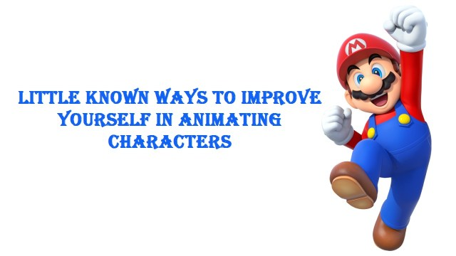 Animating Characters