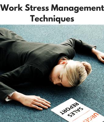 Work Stress Management Techniques