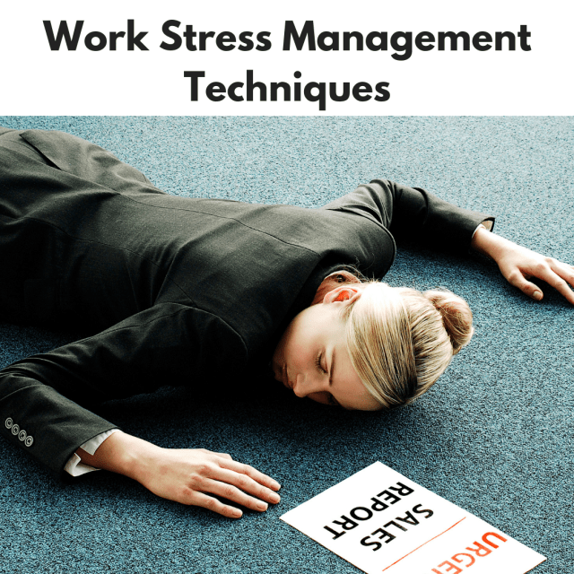 Work Stress Management Techniques