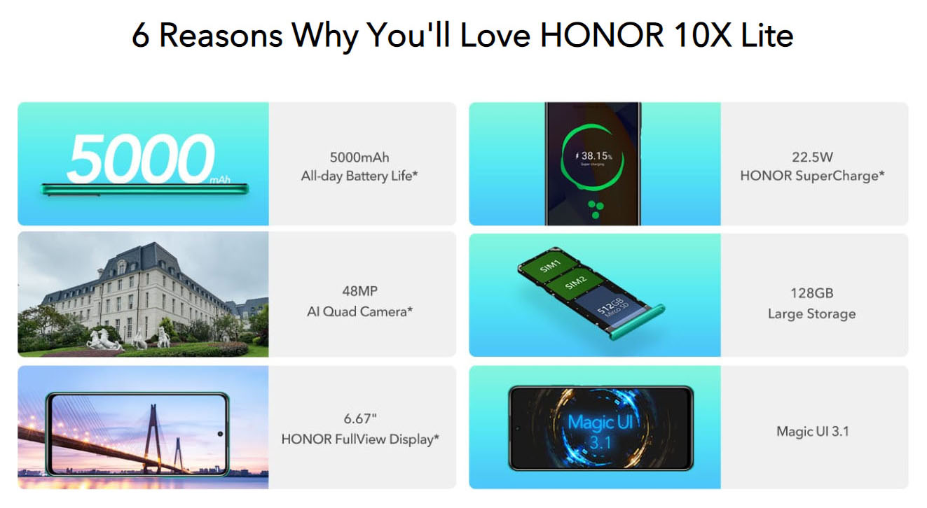 Honor X10 Lite launch