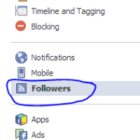 How to Add FaceBook Follow Button to your Website.
