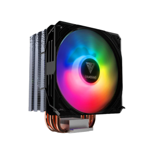 The meticulously infused Quadra (x4) Copper-Heatpipes (Direct Contact Technology) & Extra-Bulky Base Plate maximizes the heat dissipation of your gaming rig, offering an increasingly superior cooling performance.