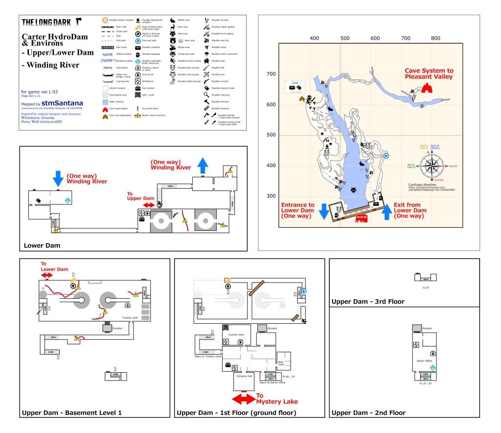Carter Hydro Dam & Environs- UperLower Dam-Winding River