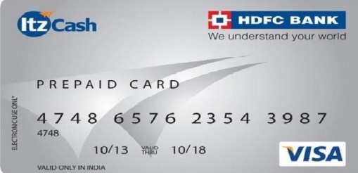 bluepayma hdfc profit card