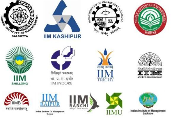 different IIM in india for MBA