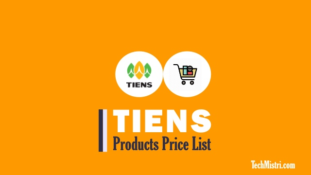 Tiens-Products-Price-List