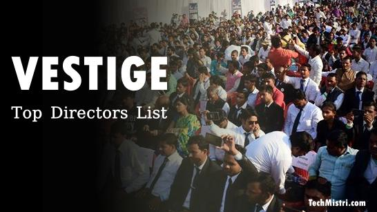 Vestige Top Directors list