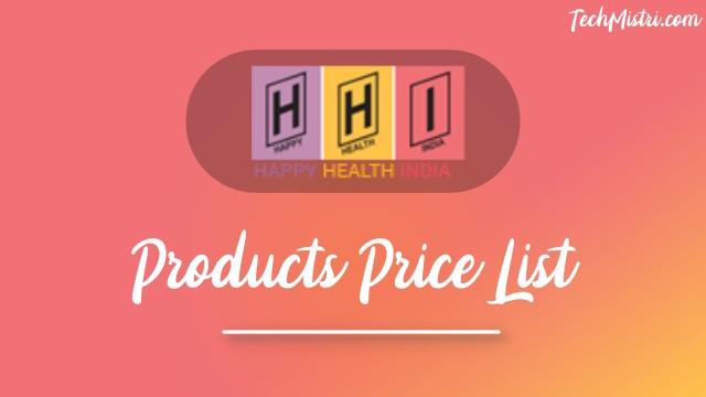 Happy Health India Products