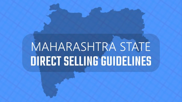 MAHARASHTRA DIRECT SELLING GUIDELINES