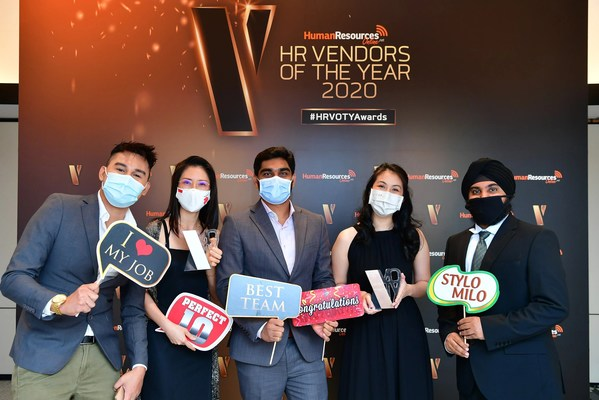 QuickHR Team at the HR Vendor of the Year Award 2020 ceremony