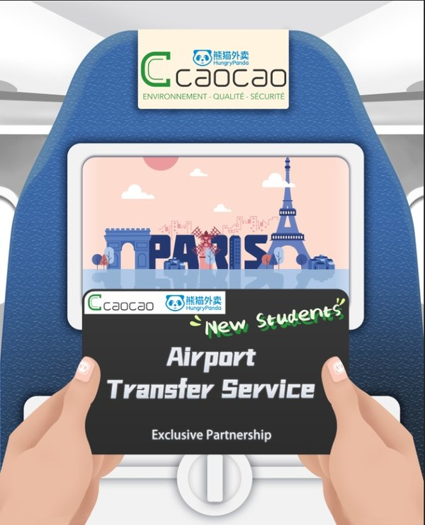 The Exclusive Partnership between HungryPanda and Caocao Mobility Paris