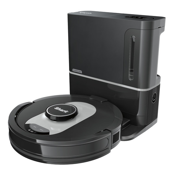 The Shark® AI Robot Self-Empty combines the latest innovations, including AI Laser Navigation™, UltraClean Mode™, and a HEPA 60-day capacity base to collect and trap dust and allergens. Available now on SharkClean.com for $599.99.