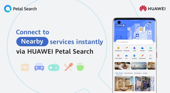 Petal Search's 'Neaby' feature automatically gathers services and latest happenings in the users' vicinity. It provides users with quick convenience of connecting to restaurants, properties, landmarks, attractions, events and more with a single tap.