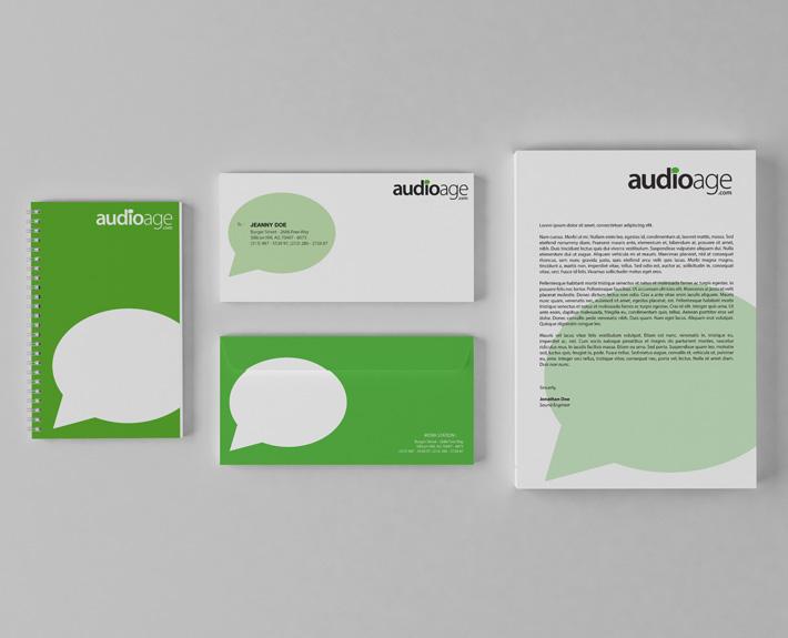Audio age Evans Akanno designs