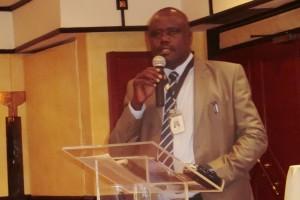 Engineer Charles Okeyo from the Kenya National Highways Authority