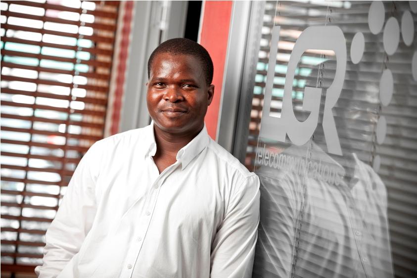 Ayanda Dlamini, Business Development Manager of LGR Telecommunications.
