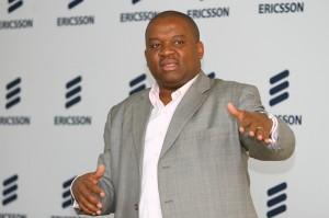David Ochanda, Ericsson Kenya's business development director speaks at the LTE Media workshop.