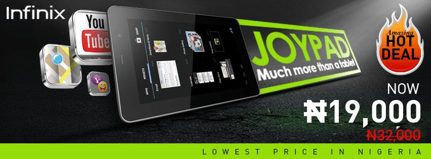 Infinix Joypad 7 Tablet in Nigeria