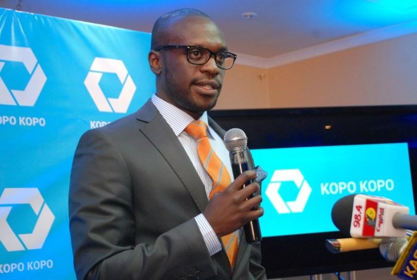 Kopo Kopo Country Manager kenya Francis Mugane at the Grow launch a few weeks ago