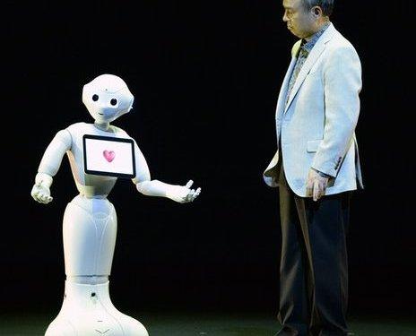 Softbank Unveils 'human-like' Robot