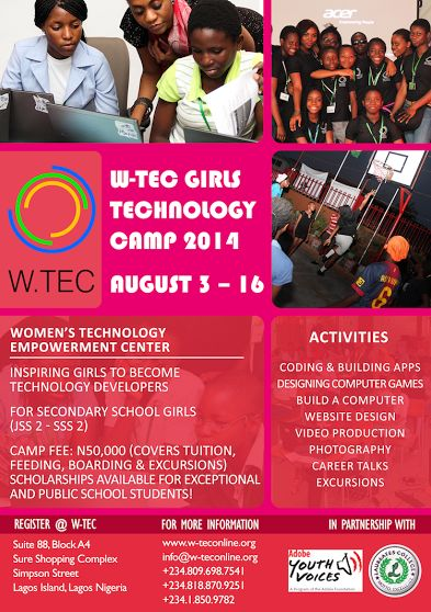 W.TECs-Girls-Technology-Camp-Bellanaija-July2014