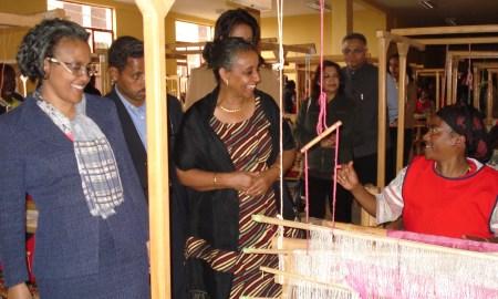 Roman Tesfaye visting women