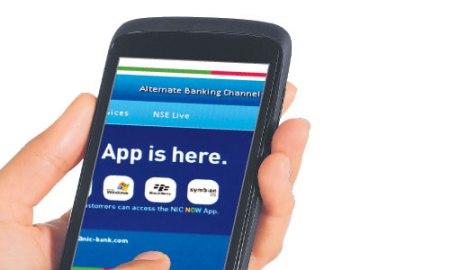 NIC mobile banking app