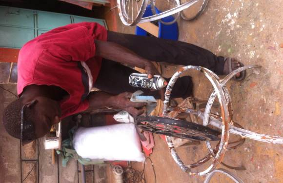 Kenyan 'Bicycle Furniture' Maker Going Places