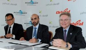 Al Yah 3 launch partners