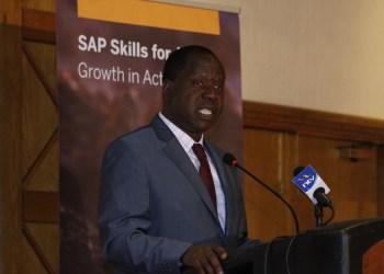 CS, ICT, Dr Fred Matiang'i