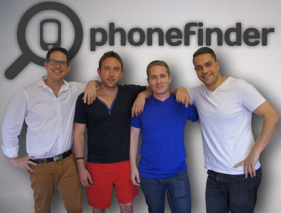 The four co-founders (left to right) — Tom Goldgamer, Danny Aaron, Lance Krom, Devin Karpes.