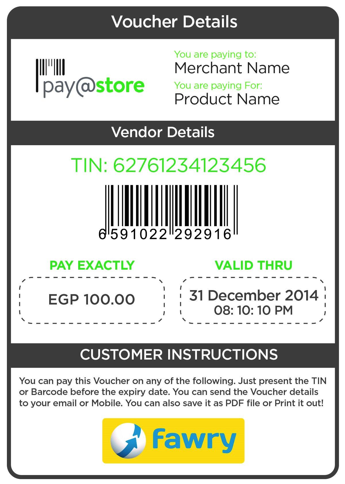 pay@store Voucher_PAYFORT