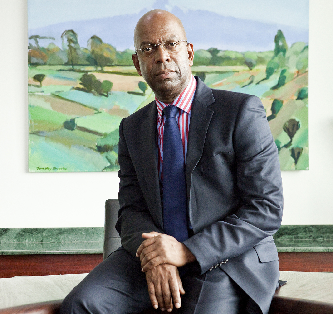 Bob Collymore, CEO Safaricom