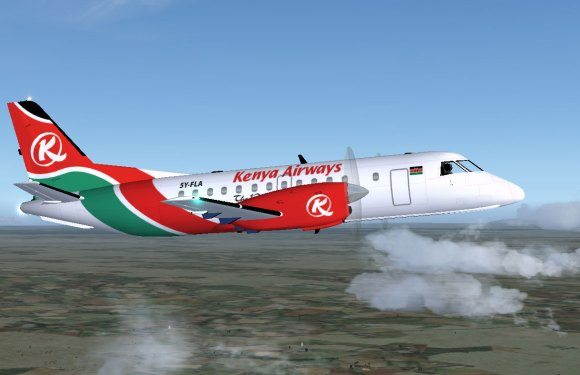 Kenya Airways, GE & Boeing boost aviation training in Kenya by donating an aircraft engine & training manuals
