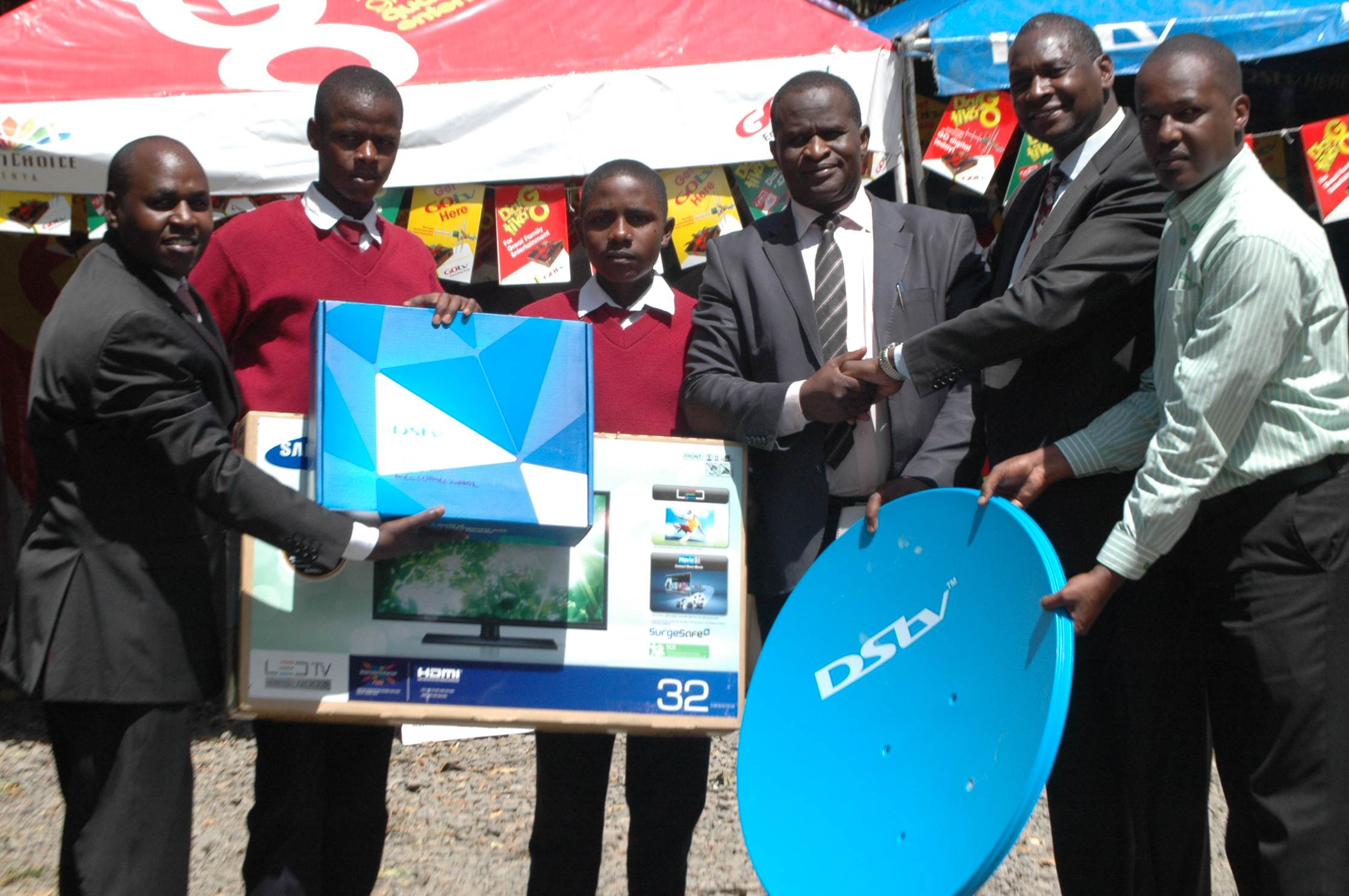 MultiChoice Unveils GOtv Signal In Kenya's Narok County