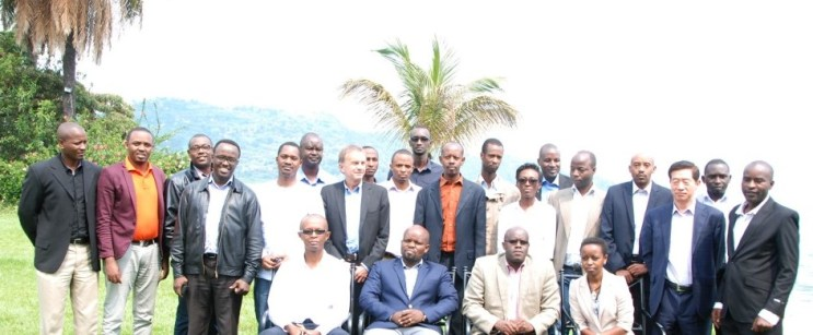 Group photo taken at the Rwanda Open Data Policy Consultative Workshop
