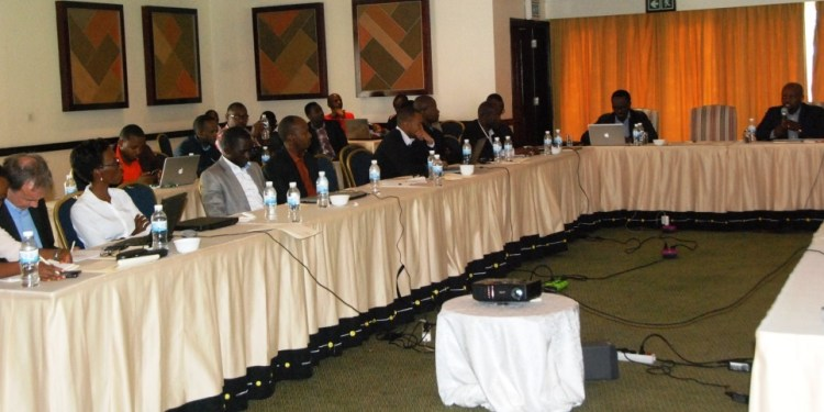 Partipants at the Rwanda Open Data Policy Consultative Workshop