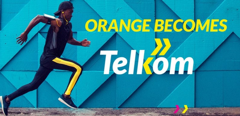 Orange is now Telkom, introduces 4G network and new logo