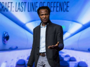 This Brilliant Nigerian Man Has Created a Machine that Can Smell Explosives