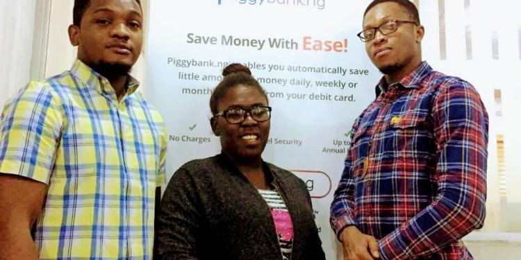 From left, Joshua Chibueze, Odunayo Eweniyi and Somto Ifezue (Photo: Sharphire