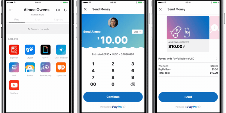 Microsoft and Paypal Partner to Enable Users Send Money Via