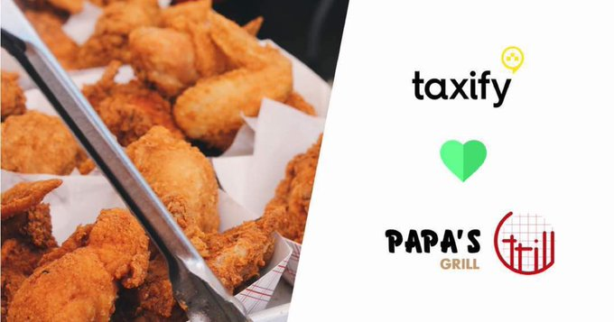 Taxify allows users to order free chicken wings on its app