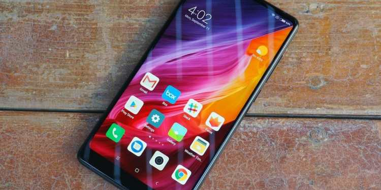 Xiaomi moved the selfie camera to the bottom of the screen on the Mi Mix 2 but still, body ratio was 83.6%.