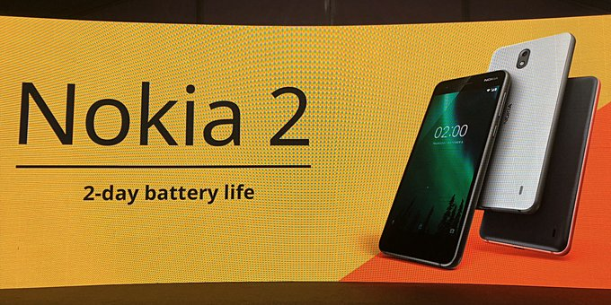 Official: Nokia 2 gets unveiled with huge 4100mAh battery and low price tag