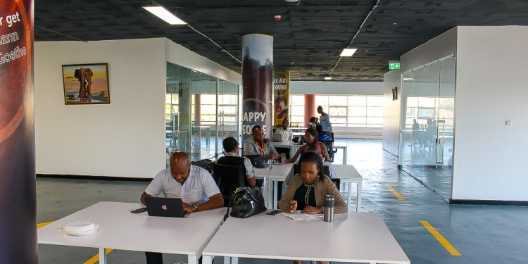 StartUpNow co-working space
